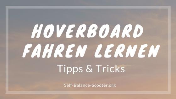 Hoverboard fahren